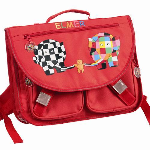 Σχολική τσάντα Elmer το ελεφαντάκι