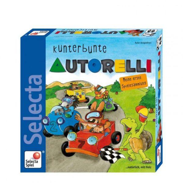 Επιτραπέζιο Autorelli - Ράλι αυτοκινήτων