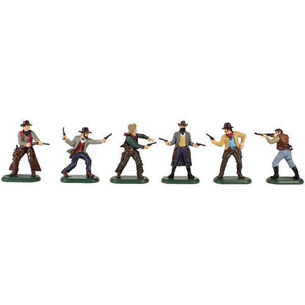 πλαστικές φιγούρες Wild West Cowboys WBritain