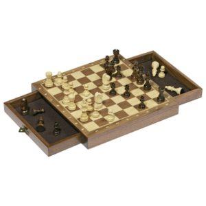Ξύλινο μαγνητικό σκάκι
