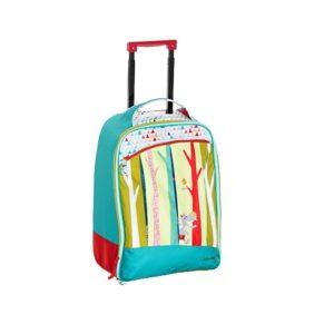 Μπλε βαλίτσα-τρόλεϊ Lilliputiens