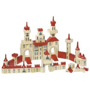 ξύλινη κατασκευή κάστρο