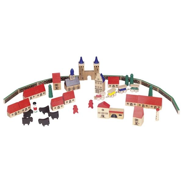 Ξύλινη κατασκευή πόλη