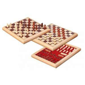 σκάκι-ντάμα-τρίλιζα Philos