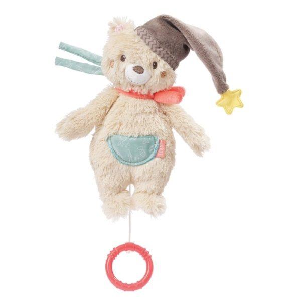 Κουρδιστό μουσικό αρκουδάκι Fehn