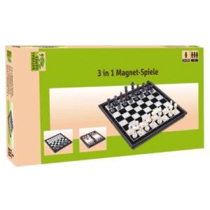 Μαγνητικό σκάκι-ντάμα-τάβλι