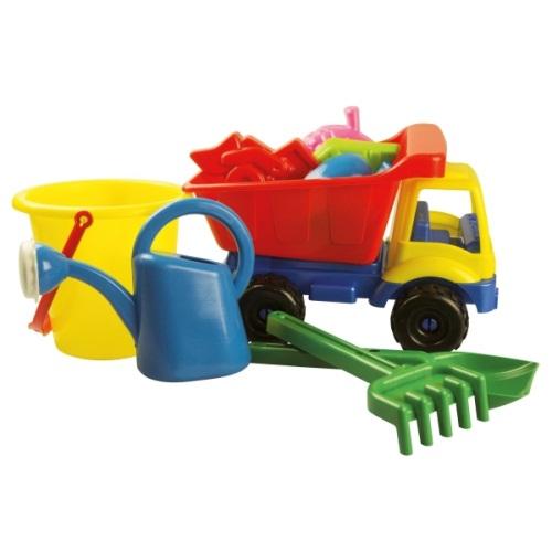 Πλαστικό φορτηγό με κουβαδάκι