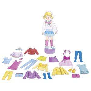 Κούκλα με μαγνητικά ρούχα