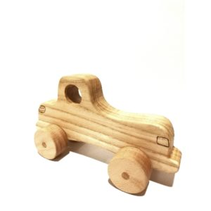 Ξύλινο χειροποίητο αυτοκίνητο