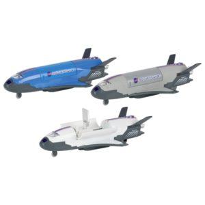Μεταλλικό διαστημόπλοιο