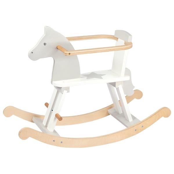 ξύλινο κουνιστό άλογο