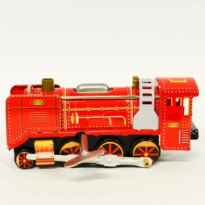 Τσίγκινη κουρδιστή μηχανή τρένου