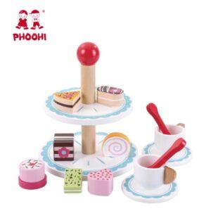 Ξύλινο πλατώ γλυκών Phoohi