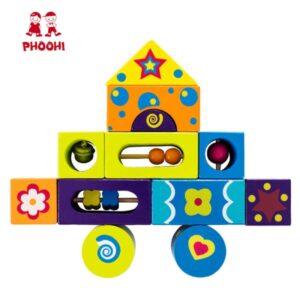 Ξύλινα κομμάτια με ήχους Phoohi
