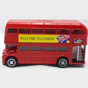 Κουμπαράς εγγλέζικο λεωφορείο