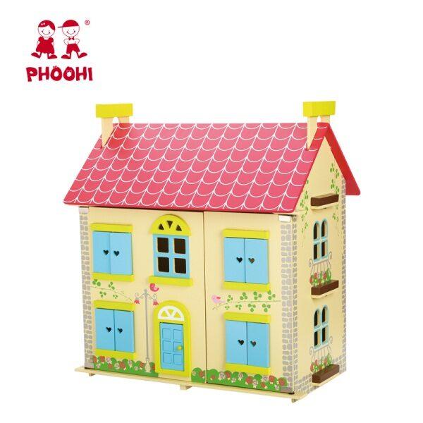 ξύλινο κουκλόσπιτο Phoohi