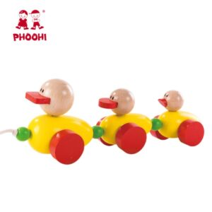 Ξύλινα συρόμενα παπάκια Phoohi