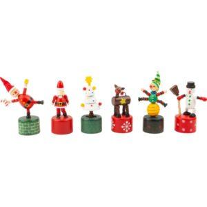 Χριστουγεννιάτικες ξύλινες σπαστές φιγούρες