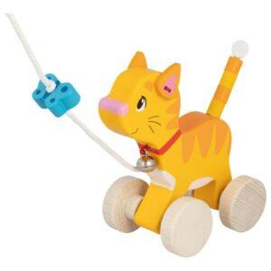 Ξύλινη συρόμενη γάτα