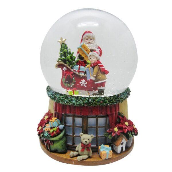 Μουσική χιονόμπαλα Άγιος Βασίλης
