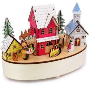 ξύλινο μουσικό χωριό