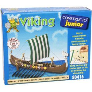 Ξύλινη κατασκευή καράβι Viking Constructo