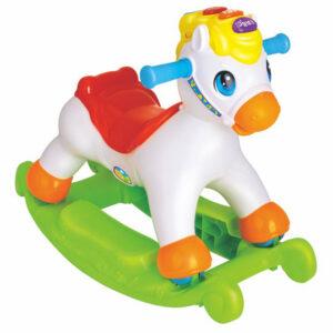 Πλαστικό κουνιστό άλογο 2 σε 1 Hola