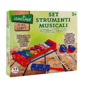 Σετ με ξύλινα μουσικά όργανα