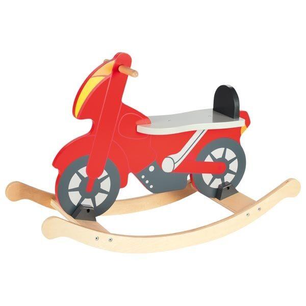 ξύλινη κουνιστή μηχανή