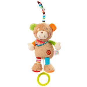 Μουσικό βρεφικό αρκουδάκι Fehn
