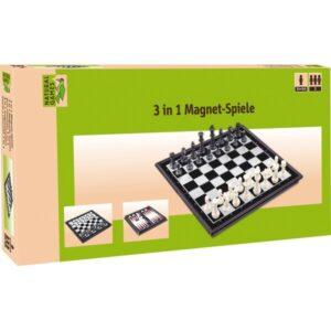 Μαγνητικό σκάκι-τάβλι-ντάμα