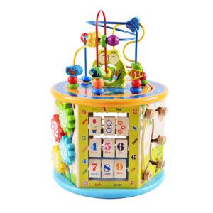 Ξύλινη εκπαιδευτική πολυγωνική δραστηριότητα Eva Toys