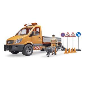 Πλαστικό φορτηγάκι δημοτικών έργων Bruder