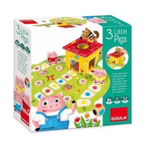 Επιτραπέζιο Τα 3 γουρουνάκια Goula Toys
