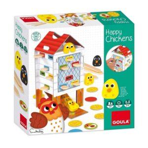 Επιτραπέζιο Χαρούμενα Κοτοπουλάκια Goula Toys